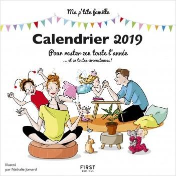 Le calendrier 2019 est Disponible ET DÉFINITIF!