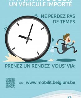 Flash Info DIV de la Direction générale Transport Routier et Sécurité Routière du SPF Mobilité et transports