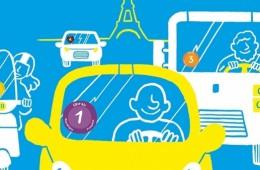 En voiture à Paris: commandez votre vignette Crit'Air online